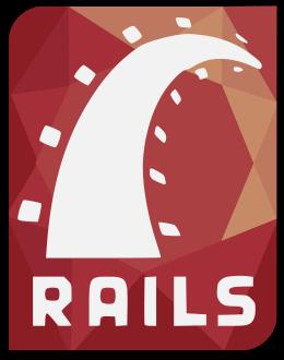 English: Ruby on Rails logo