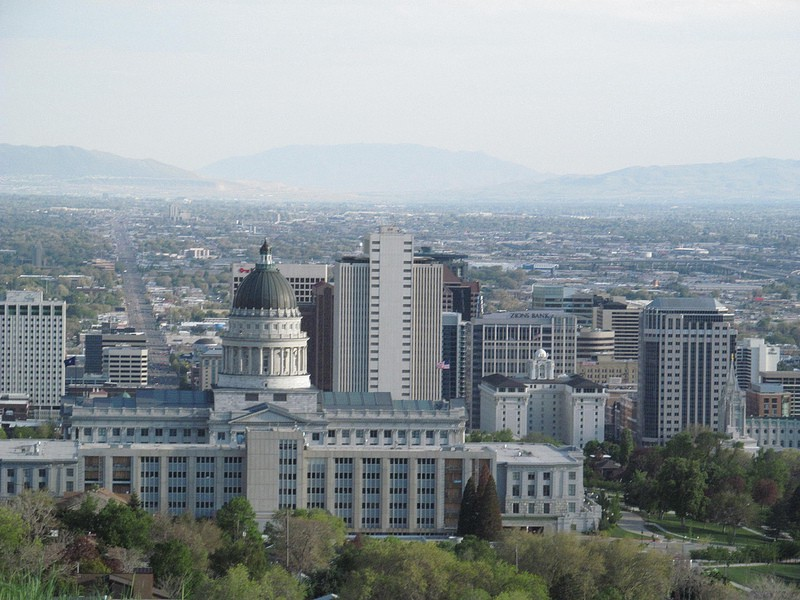 The Salt Lake Capital building. (Dougtone via Flickr)